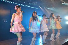 Kyoko Nishiyama - Google+ - 「7周年特別記念」公演(^^)/~~~ 切り撮ってみた。 9曲目 「7時12分の初恋」。…