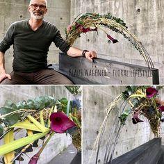 Die schönsten Eindrücke des Sikastone Floristry Education/BLOOM's Seminars mit Klaus Wagener/Teil 2 Floral Design, Art Floral, Mechanical Design, Ikebana, Design Projects, Flower Arrangements, Bloom, Shanghai, Creative