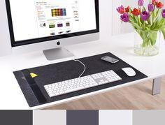 Modern Workspace  :: iMac and Desk Pad