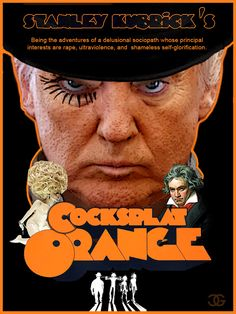 Trump, A Cocksplat Orange