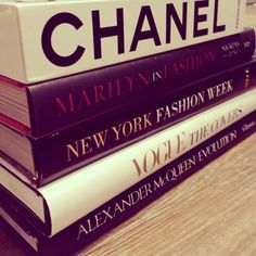 coffee table books - who doesn't love perusing a few books on fashion in a few spare moments!