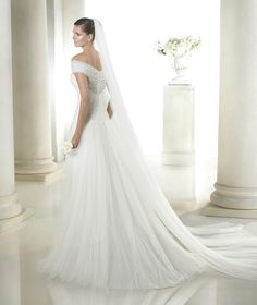 Style * SANDER * » Wedding Dresses » Fashion 2015 Collection » by San Patrick (back)