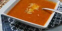 Fresh Tomato Basil Bisque | KitchenDaily.com