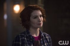 "Supernatural -- ""Dark Dynasty"" -- Image SN1023B_0094 -- Pictured: Felicia Day as Charlie -- Photo: Katie Yu/The CW -- © 2015 The CW Network, LLC. All Rights Reserved.pn"