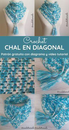 42 Ideas De Chales Chalinas Y Baktus Crochet En 2021 Croché Chal Chal De Ganchillo