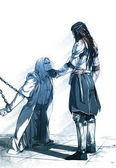 "(? to Z - banishmentwest) ""Oh, my friend... how far you've fallen."""