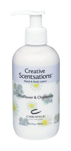 CND WILDFLOWER & CHAMOMILE LOTION 8.3oz by CND Cosmetics. $11.00. 1 BOTTLE 8.3oz WILDFLOWER & CHAMOMILE LOTION.
