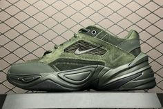 low priced d473b 6d615 Mens Nike M2K Tekno Sequoia Black-Cargo Khaki BV0074-300