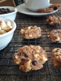 Healthy recipes with ground turkey and brown rice casserole soup crock pot Choco Chip Cookies, Choco Chips, Brownie Cookies, Chocolate Cookies, Cake Cookies, Biscuit Cookies, Delicious Cookie Recipes, Baking Recipes, Sweets