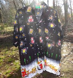 Mens ugly Christmas shirt XXL for the ugly sweater party