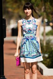 Petunia Printed Dress. This dress is undeniably gorgeous. I would definitely wear this during a warm spring day to meet up with my friends. Pair this with the Fontspoint Crochet Wedge and the Amara Drop Earrings. Darling!