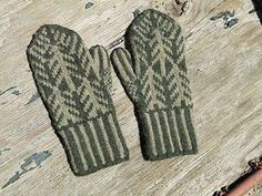 These mittens knit up quickly in worsted weight yarn. The medium size fits women and teens with average size hands, and men with small hands. The large size works well for men with larger hands. Changing the yarn, gauge, or needle size will affect the size of the completed project.