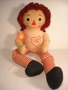 Did U know that Raggedy Ann & Andy were the same doll --- just dress one in a dress & the other in his pants & hat???