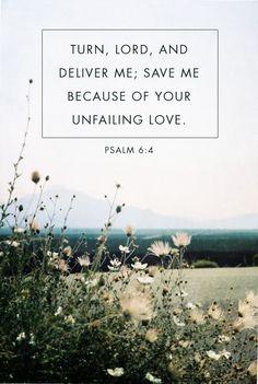 Psalm 6:4