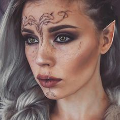 Some of you wanted to see me as my Inquisitor from Dragon Age that I posted yesterday! It was just a quickie and the tattoos didn't turned awful but if I make a tutorial some day I promise I will do it better, and make real elf ears as well<<< that's really freaking good!