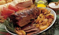 20 traditional Christmas dishes from Italy: Abbacchio Al Forno Con Patate (Roasted Lamb and Potatoes) - LAZIO
