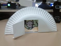 hibernating bear cave craft, but it needs more colors!