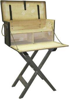 #fielddesk #plans | Campaign Furniture - Field desk ...