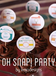 oh snap camera party by kojodesigns  SERIOUSLY love  these ladies and their parties!