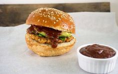 <p>These burgers are easy to toss together in the food processor, have a great smokey taste, and work great on the grill. </p>