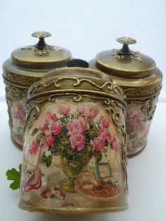 CanistersKitchen CanistersCoffee/Tea by InspirellaDesign on Etsy