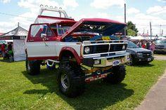 Classic Ford 4X4 Pickup Truck