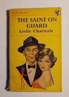 Originally published in 1945,  this was the first Leslie Charteris book I read -  in 1953. I was 12 at the time!