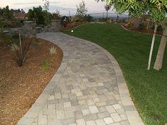 Brick+Paver+Walkway+Designs | After Paver Walkway