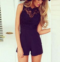 2018 Mesh Lace Playsuits New Fitted Playsuit Women Fashion Sexy Club bodycon jumpsuit Sleeveless Shorts Coveralls Macacaos Bodycon Jumpsuit, Lace Jumpsuit, Short Jumpsuit, Backless Jumpsuit, White Lace Romper, Lace Playsuit, Black Romper, Rompers Women, Jumpsuits For Women