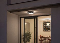 PLAKA | rendl light studio | Square outdoor light of aluminum with a opal colored polycarbonate diffuser for ceiling or wall mounting. #lights #design #outdoor #wall  #ceiling