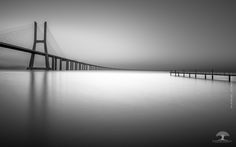 Vasco da Gama Bridge - The Icone - Sunrise at Vasco da Gama Bridge.