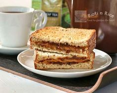 Rich savory Grilled Marmite Cheese Sandwich with lots of umami flavor. Makes a quick and satisfying breakfast or snack served with your favorite cup of tea. Uk Recipes, Wrap Recipes, Vegetarian Recipes, Yummy Treats, Yummy Food, Tasty, Marmite Recipes, Slider Recipes, Savoury Dishes