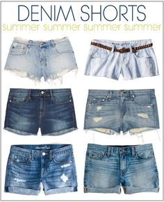 Perfect Denim Shorts For Summer