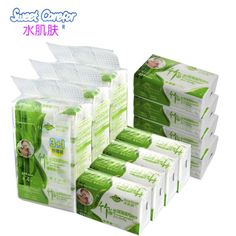 Bamboo facial tissue.#Sweet Carefor