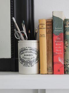 Vintage Dundee Marmalade Pot Small