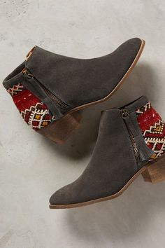 Howsty Tahirah Booties - anthropologie.com