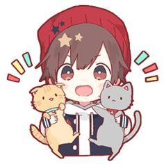 kobayashi-san chi no maid dragon elma chibi stiquer Kawaii Anime, Chibi Boy, Cute Anime Chibi, Kawaii Chibi, Dark Anime Guys, Cute Anime Guys, Anime Boy Zeichnung, Gato Anime, Art Mignon