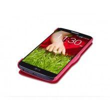 Funda LG G2 Nillkin - Fresh Series Window Rojo  $ 134,80