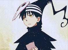 death the kid soul eater... When it comes down to it he's just a smug teenager like the rest us.