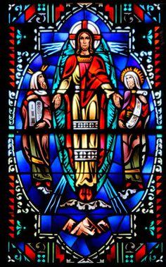 Stained Glass Windows of Epiphany Catholic Church