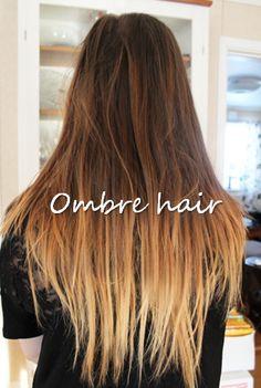 (4) ombre hair | Tumblr