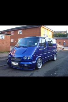 Ford Transit RS Cosworth... Wouldn't mind doing the delivery run in this, what a machine