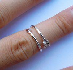 Sterling Silver Heart Beat Ring All Sizes4 by SterlingSilverJewels