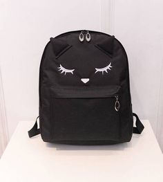Cute Cat Backpack Casual Style for Girls. – Kp Max