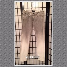 """Vince Light Denim Jeans PRICE FIRM These jeans are in excellent condition. They have a 21.5"""" inseam and five pockets. Vince Jeans"""