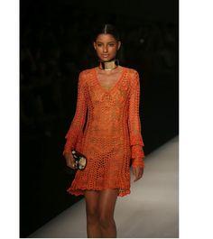 Podio del ganchillo vestido será por encargo en por DearAlina, $259.00