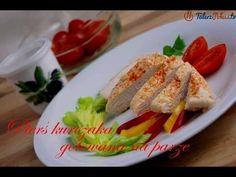 Pierś kurczaka gotowana na parze - TalerzPokus.tv