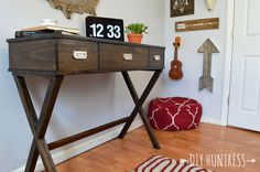 Ana White | Build a X Leg Desk with Drawers Featuring Build Something | Free and Easy DIY Project and Furniture Plans