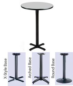 KFI Round Bar Height Mode Cafe Table are ready to ship for your cafeteria or lunchroom. From Worthington Direct, the leader in discount school furniture.