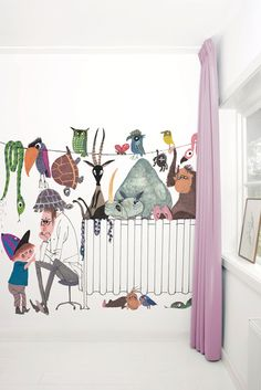 Fotobehang van KEK Amsterdam - Wallpaper door Fiep Westendorp